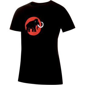 Mammut Logo t-shirt Heren, black